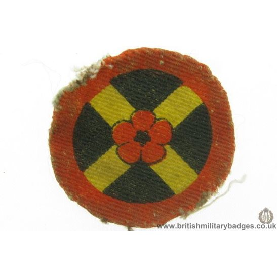 E1A/72 - Western Command Division Formation Sign Patch Badge