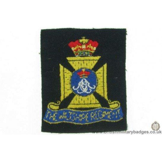 R1B/07 - The Wiltshire Regiment Blazer Badge