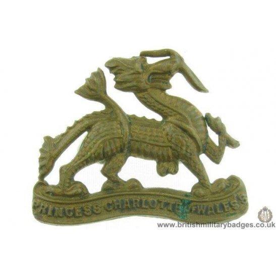 B1C/30 - The Royal Berkshire Regiment Collar Badge