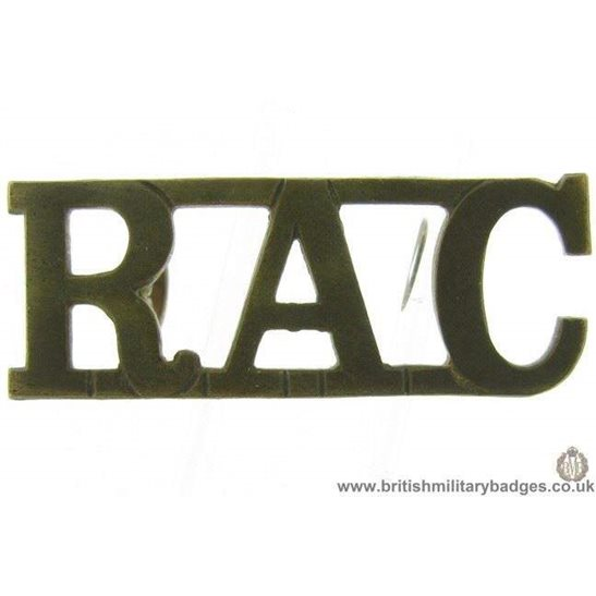 C1E/58 - Royal Armoured Corps RAC Shoulder Title