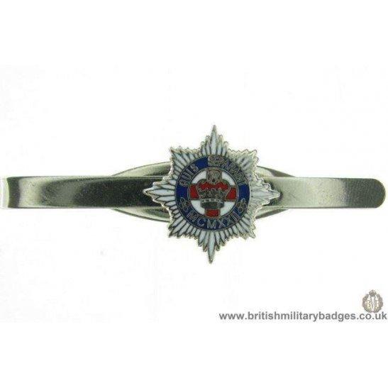 U1A/07 - 4th/7th Dragoon Guards Regt Veterans Tie Clip Slide Bar
