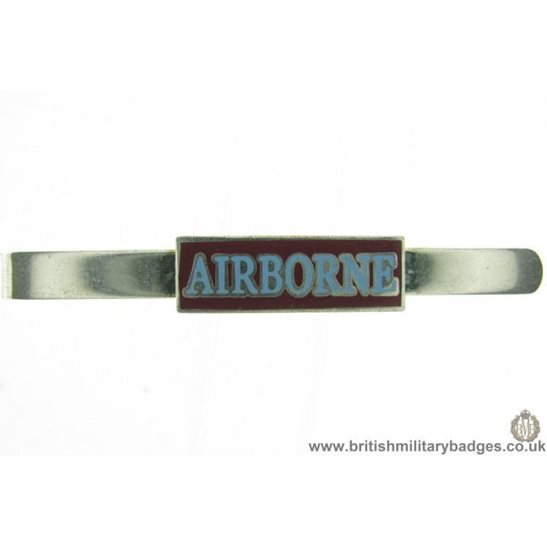 U1A/08 - Parachute Airborne Division Veterans Tie Clip Slide Bar