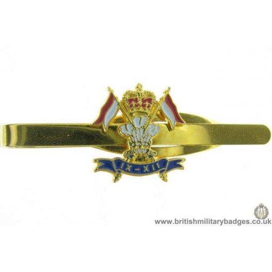 U1A/09 - 9th/12th Royal Lancers Regt Veterans Tie Clip Slide Bar