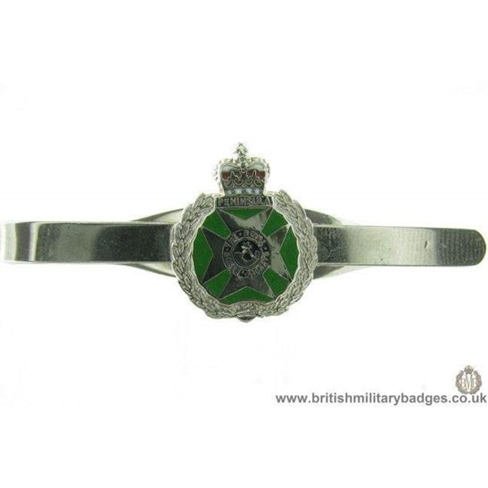 U1A/17  Royal Green Jackets Regiment Veterans Tie Clip Slide Bar
