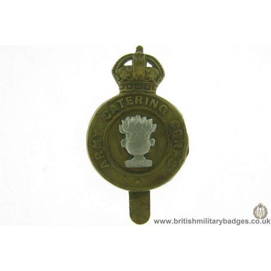 A1E/26 - Army Catering Corps ACC Cap Badge