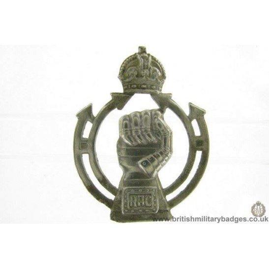 A1E/37 - Royal Armoured Corps RAC Cap Badge