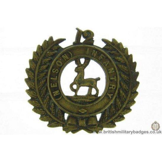 B1C/85 - 12th Nelson New Zealand Infantry Regiment Collar Badge