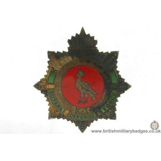 A1E/49 - Guyana Defence Force Regiment Cap Badge