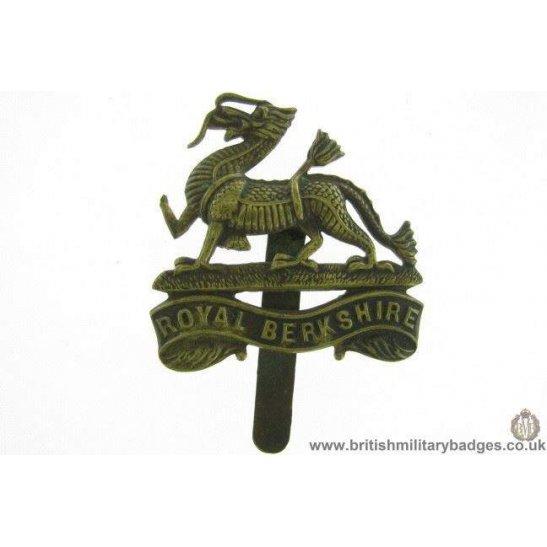 A1E/59 - Royal Berkshire Regiment Cap Badge