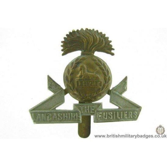 A1E/63 - The Lancashire Fusiliers Regiment Cap Badge