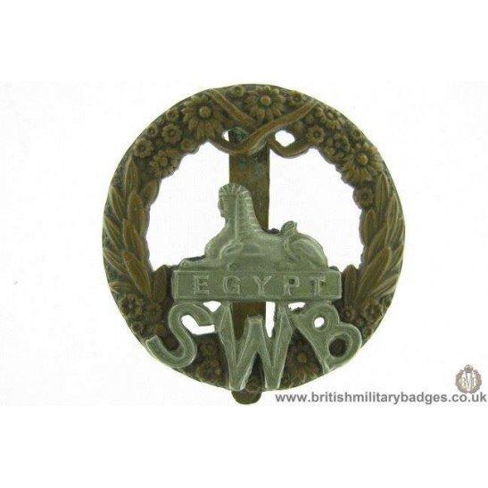 A1E/71 - South Wales Borderers SWB Regiment Cap Badge