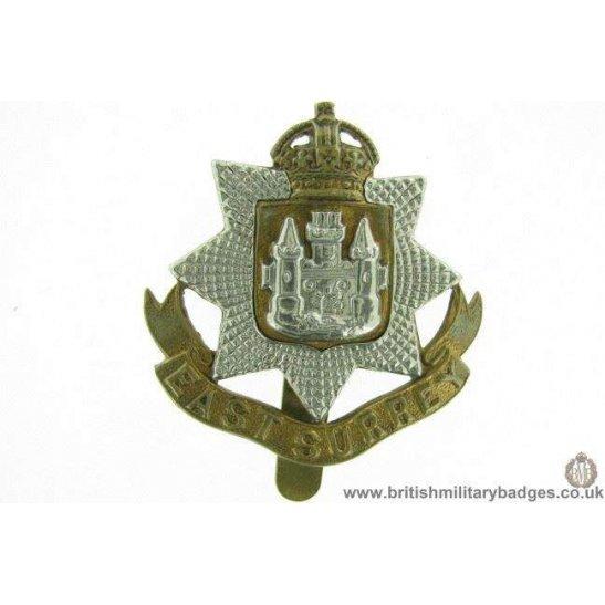 A1E/79 - East Surrey Regiment Cap Badge