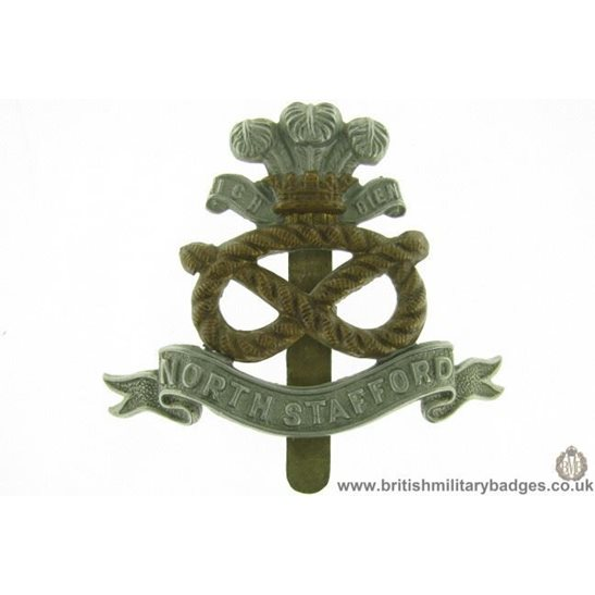A1E/82 - North Stafford / Staffordshire Regiment Cap Badge