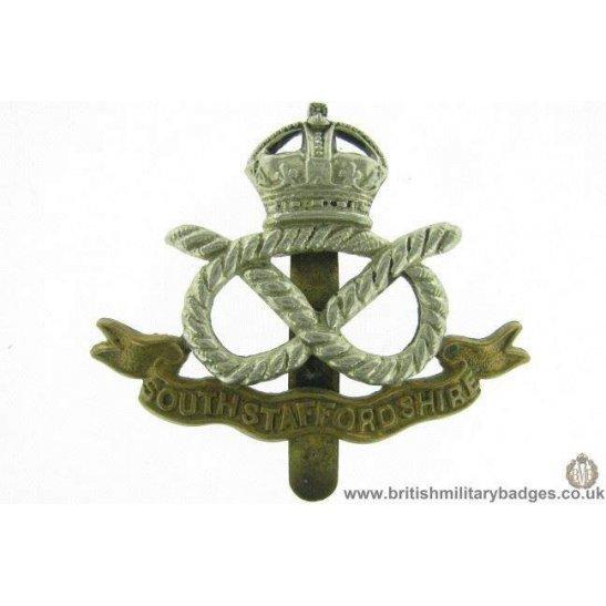 A1E/90 - South Stafford / Staffordshire Regiment Cap Badge