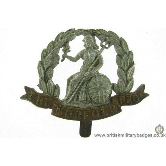 A1F/01 - The Royal Norfolk Regiment Cap Badge