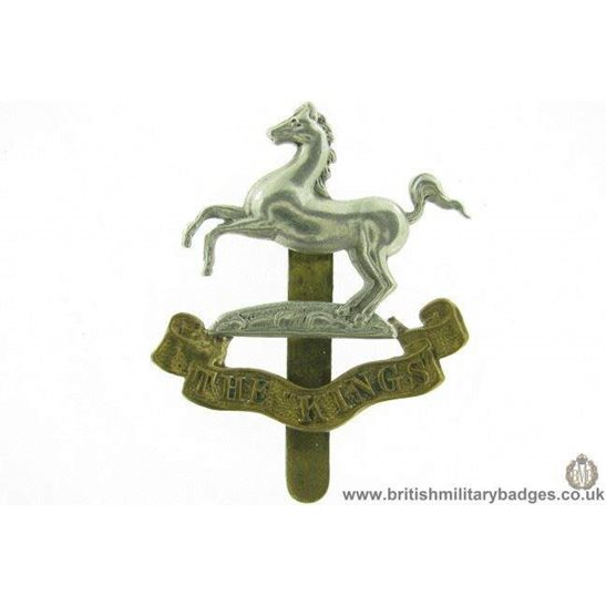 A1F/02 - The King's / Kings Liverpool Regiment Cap Badge