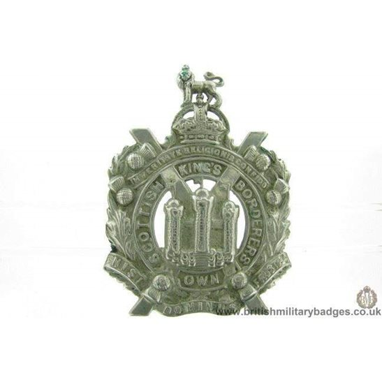 A1F/11 - Kings Own Scottish Borderers Regiment KOSB Cap Badge