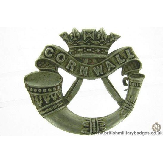 A1F/17 VICTORIAN Duke of Cornwalls Light Infantry Cap Badge LUGS