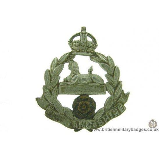 A1F/18  The East Lancashire TERRITORIAL Battalion Cap Badge LUGS