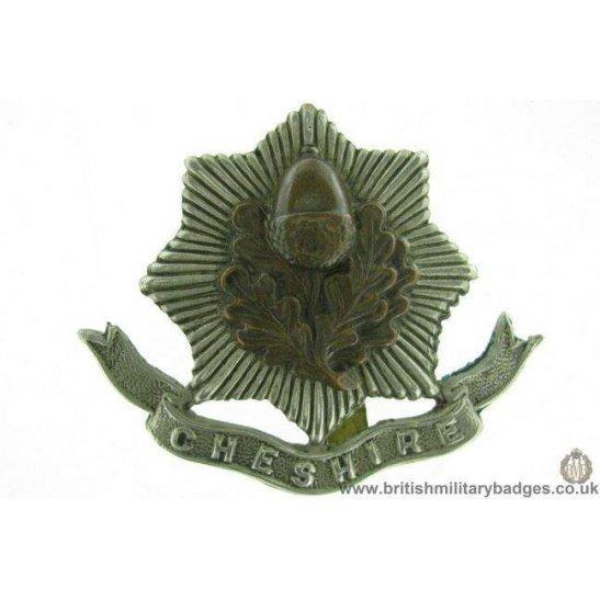 A1F/37 - Cheshire Regiment Cap Badge