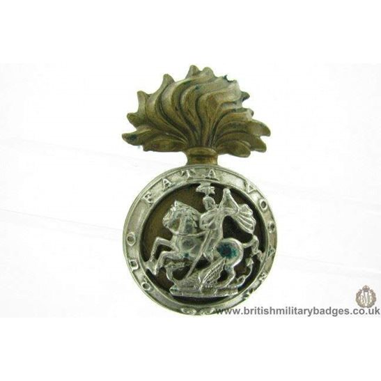 A1F/40 - Northumberland Fusiliers Regiment Cap Badge - LUGS