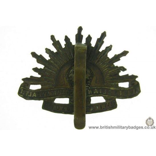 additional image for A1F/44 Australian Commonwealth Military Forces Cap Badge MAKERS