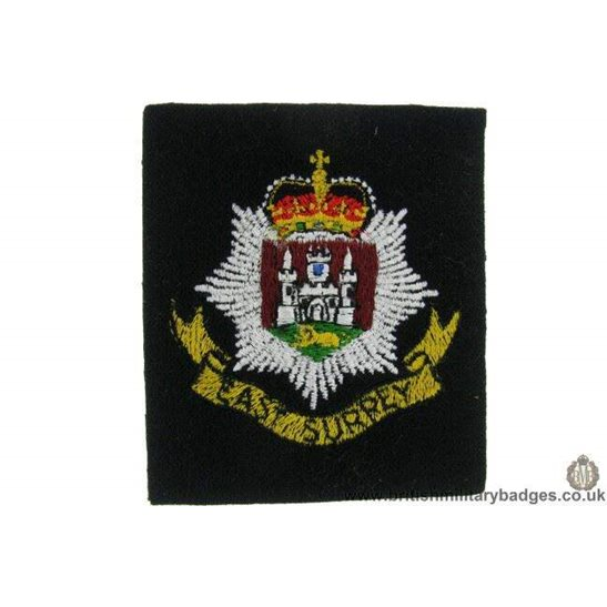 R1B/20 - East Lancashire Regiment Blazer Badge