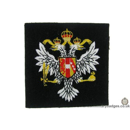 R1B/23 - 3rd Carabiniers Regiment Blazer Badge
