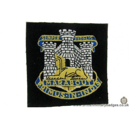 R1B/29 - The Dorset / Dorsetshire Regiment Blazer Badge