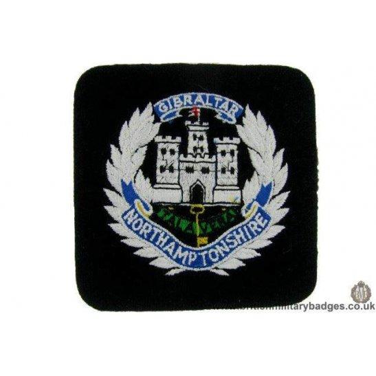 R1B/36 - The Northamptonshire Regiment Blazer Badge