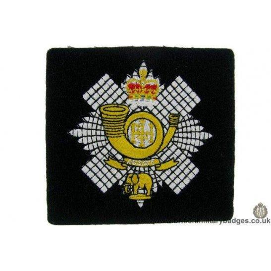 R1B/39 - Highland Light Infantry HLI Regiment Blazer Badge
