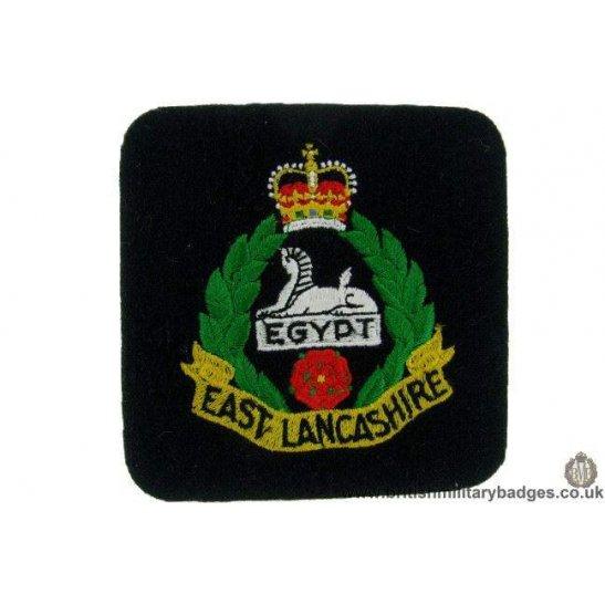 R1B/40 - The East Lancashire Regiment Blazer Badge