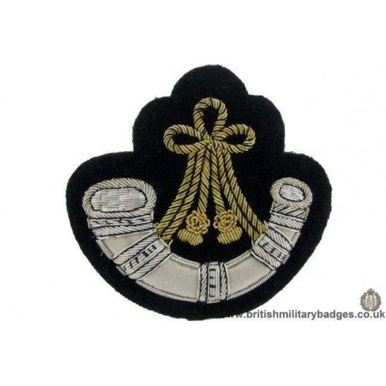 R1B/49  Oxfordshire & Buckinghamshire Regiment WIRE Blazer Badge