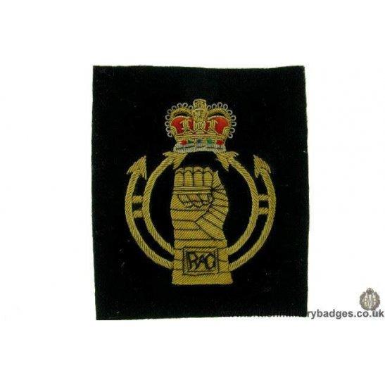 R1B/55 - RAC Royal Armoured Corps WIRE Blazer Badge