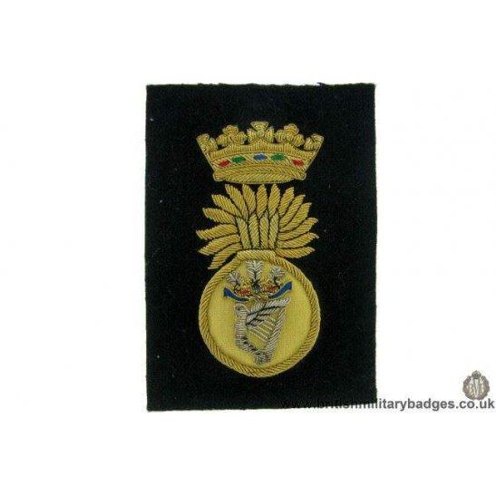 R1B/61 - Royal Irish Fusiliers RIF Regiment WIRE Blazer Badge
