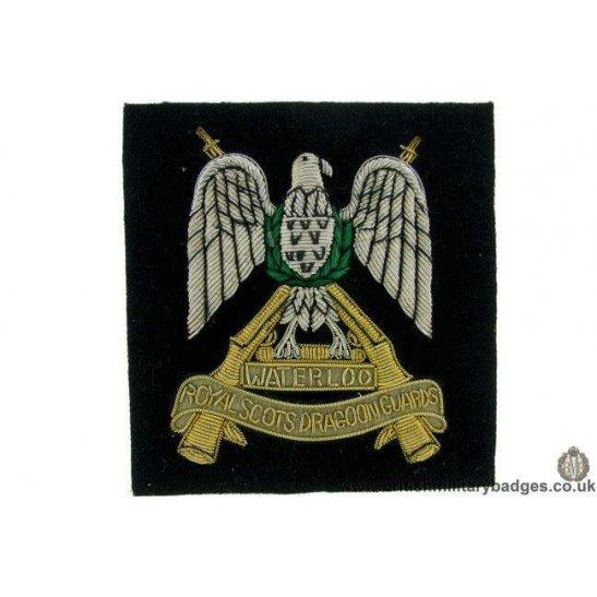 R1B/69 - Royal Scots Dragoon Guards Regiment Blazer Badge