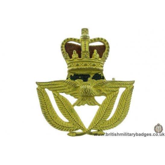 A1F/50 - Royal Air Force RAF Cap Badge - QC