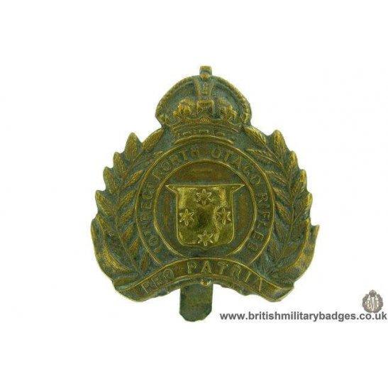 A1F/60 - 10th Regiment North Otago Rifles New Zealand Cap Badge