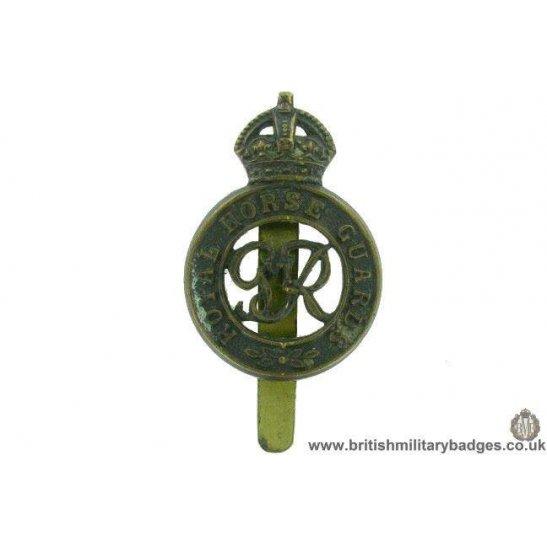 A1F/67 - Royal Horse Guards Regiment Cap Badge DOWLER BIRMINGHAM