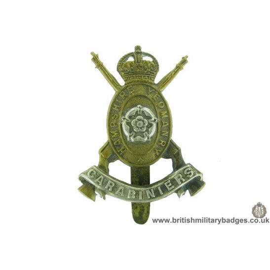 A1F/69 - Hampshire Yeomanry Carabiniers Regiment Cap Badge