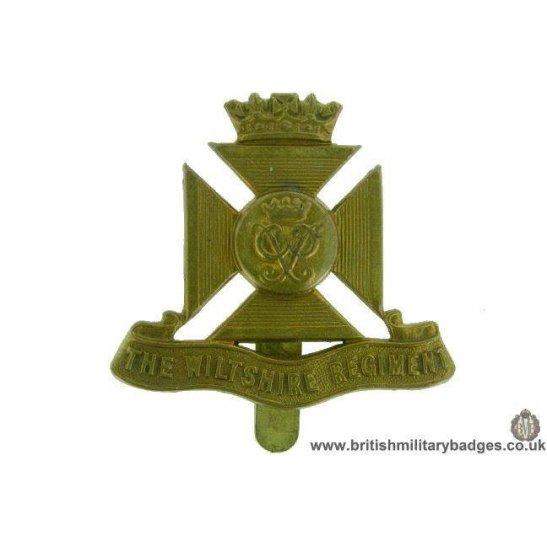 A1F/78 - The Wiltshire Regiment Cap Badge - J.R.GAUNT LONDON
