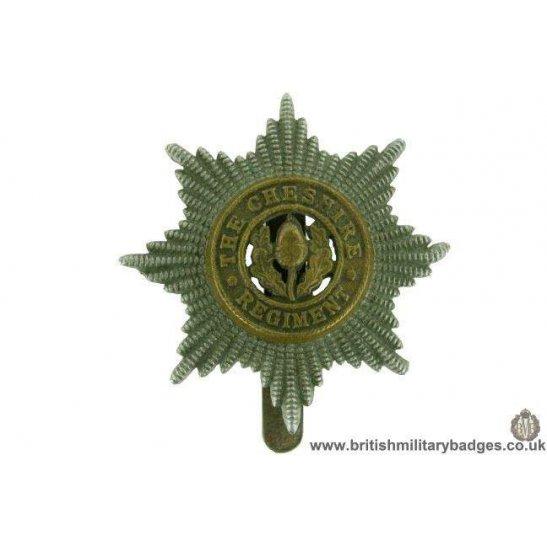 A1F/85 - Cheshire Regiment Cap Badge - BUTTONS LD B'HAM
