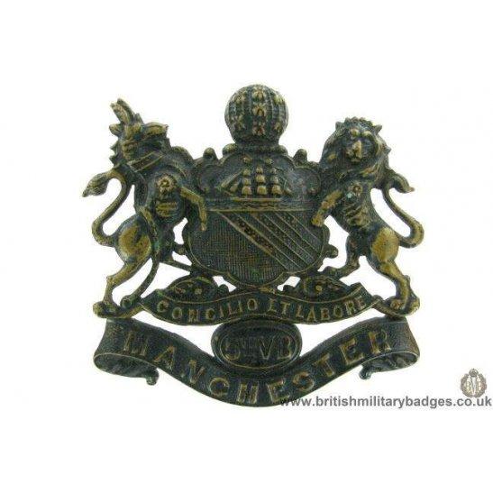 A1G/03  5th Volunteer Battalion VB Manchester Regiment Cap Badge
