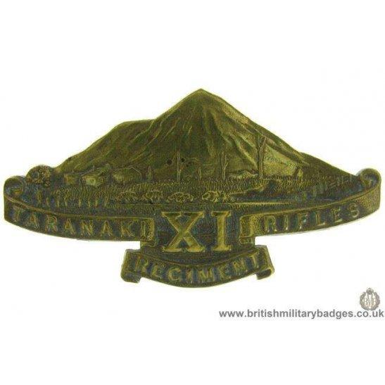A1G/06 - 11th Taranaki Rifles Regiment New Zealand Cap Badge