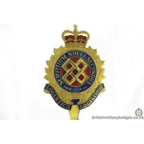 A1G/08 - Logistics Branch (Canadian Forces) Cap Badge - QC