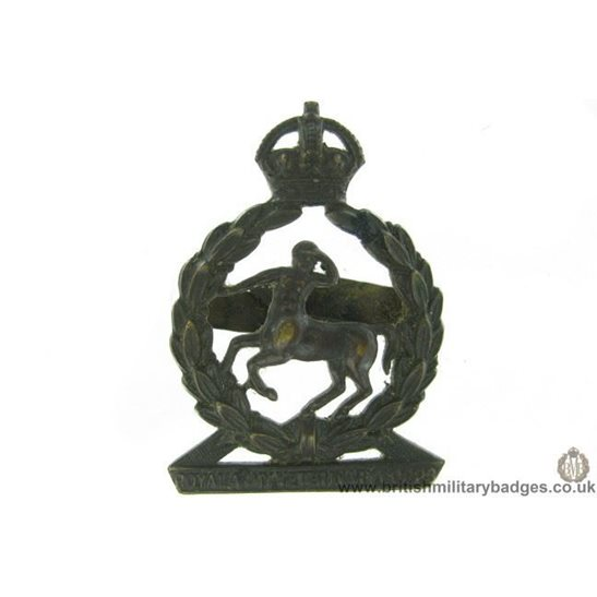 A1G/31 - Royal Army Veterinary Corps OFFICERS Cap Badge