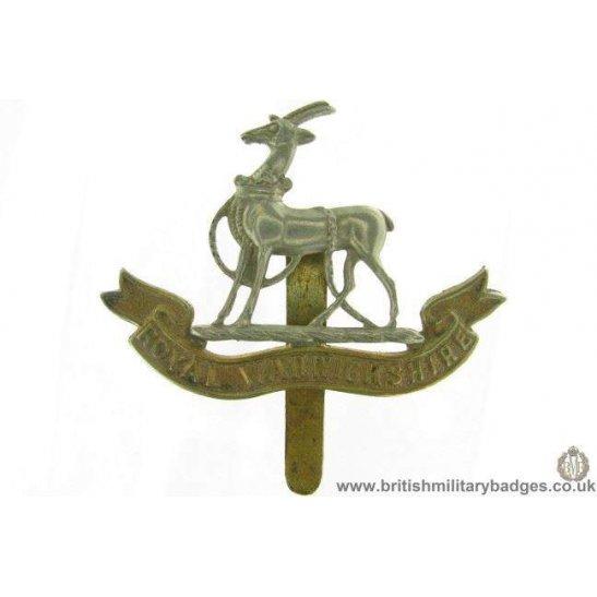 A1G/55 - Royal Warwickshire Regiment Cap Badge
