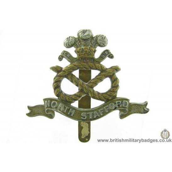 A1G/57 - North Stafford / Staffordshire Regiment Cap Badge