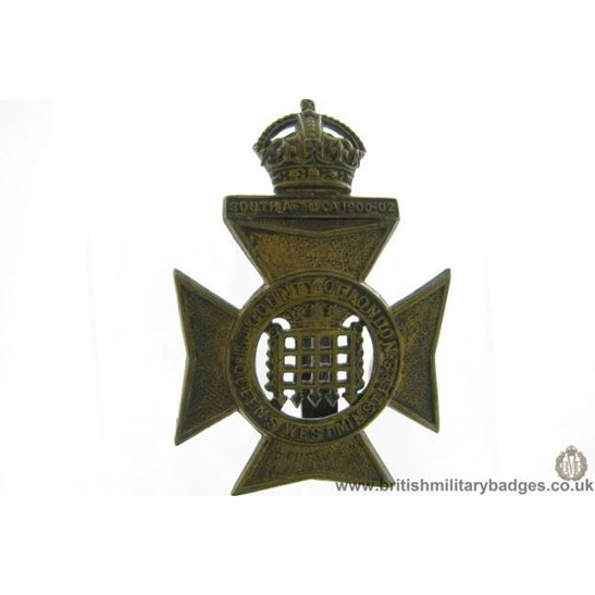 A1G/59 - 16th Bn. (Queen's Westminster Rifles) London Cap Badge