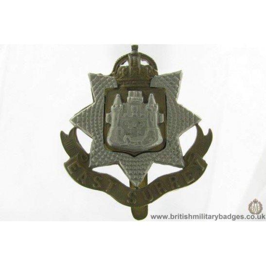 A1G/69 - East Surrey Regiment Cap Badge
